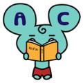 漫画を読むネズミ